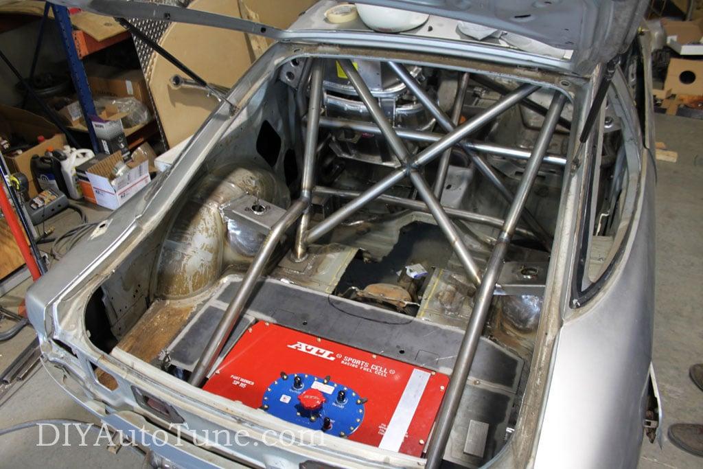 Jerry's Bonneville racer - 240SX with a Toyota 2JZ motor ...