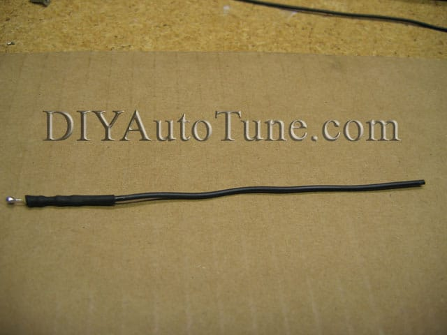 how to megasquirt your ford mustang 5 0 diyautotune com heatshrink wrap this wire resistor assembly