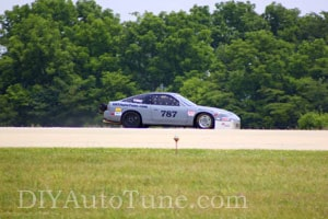 DIYAutoTune.com's LSR 240sx at the Ohio Mile July 2014