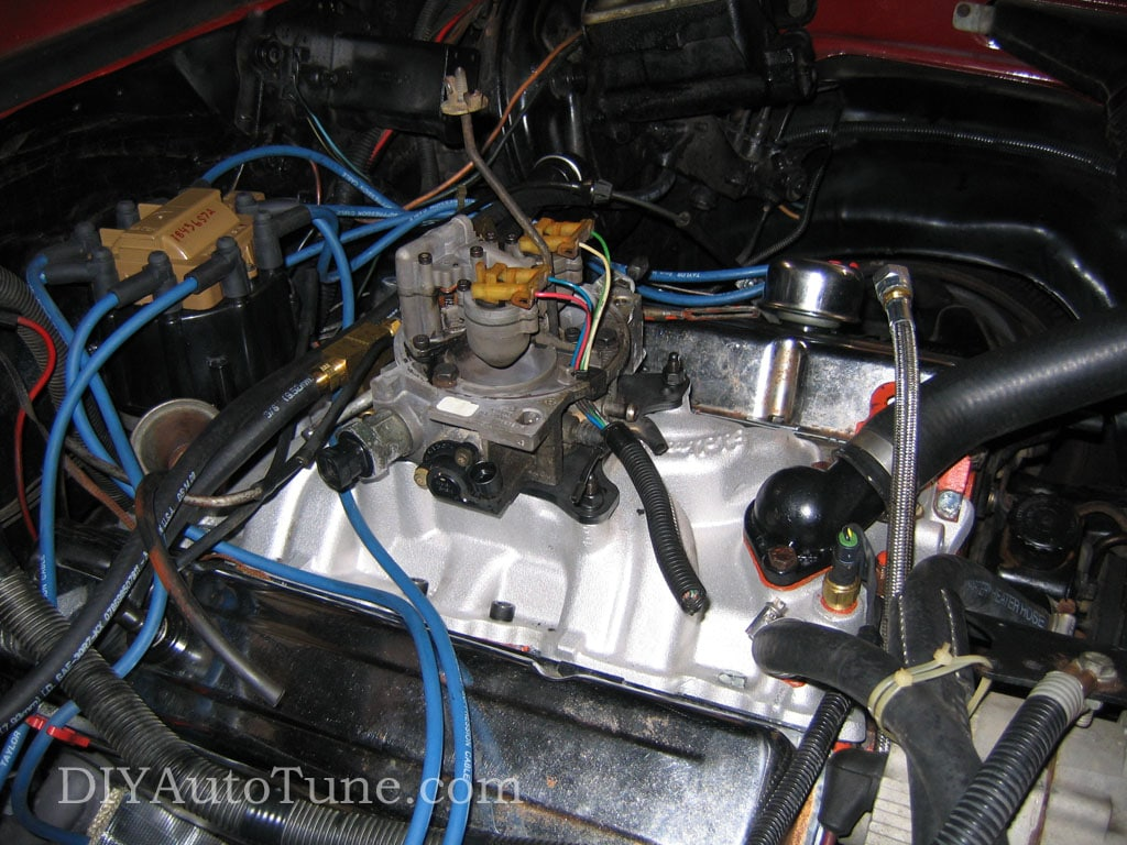 Megasquirt Carb To Efi Conversion Part 1 Tbi Fuel Only Injected 305 Engine Diagram Injector Wiring
