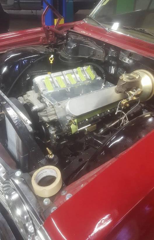 V10 LS Engine running MS3Pro ECU Engine Management System