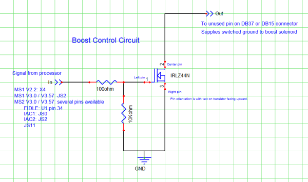 MK-Boost mod kit schematic