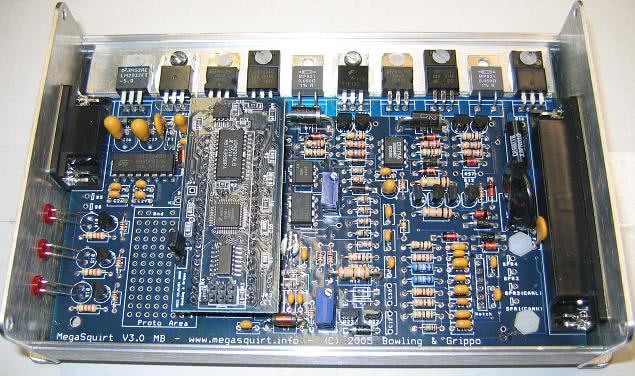 MegaSquirt-II Programmable EFI System PCB3 0 - Kit