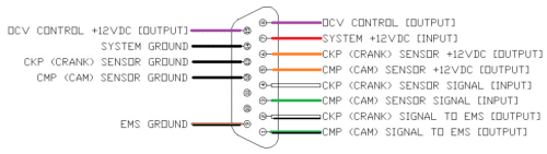 "VVTuner 18"" pigtail wiring harness"