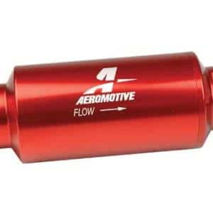 Aeromotive 12301 Inline 10 micron fuel filter with -10 AN ports