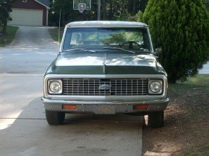 1972 Chevy C10 pickup 4.8 LS motor swap