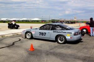 October 2013 Ohio Mile land speed racing 240sx
