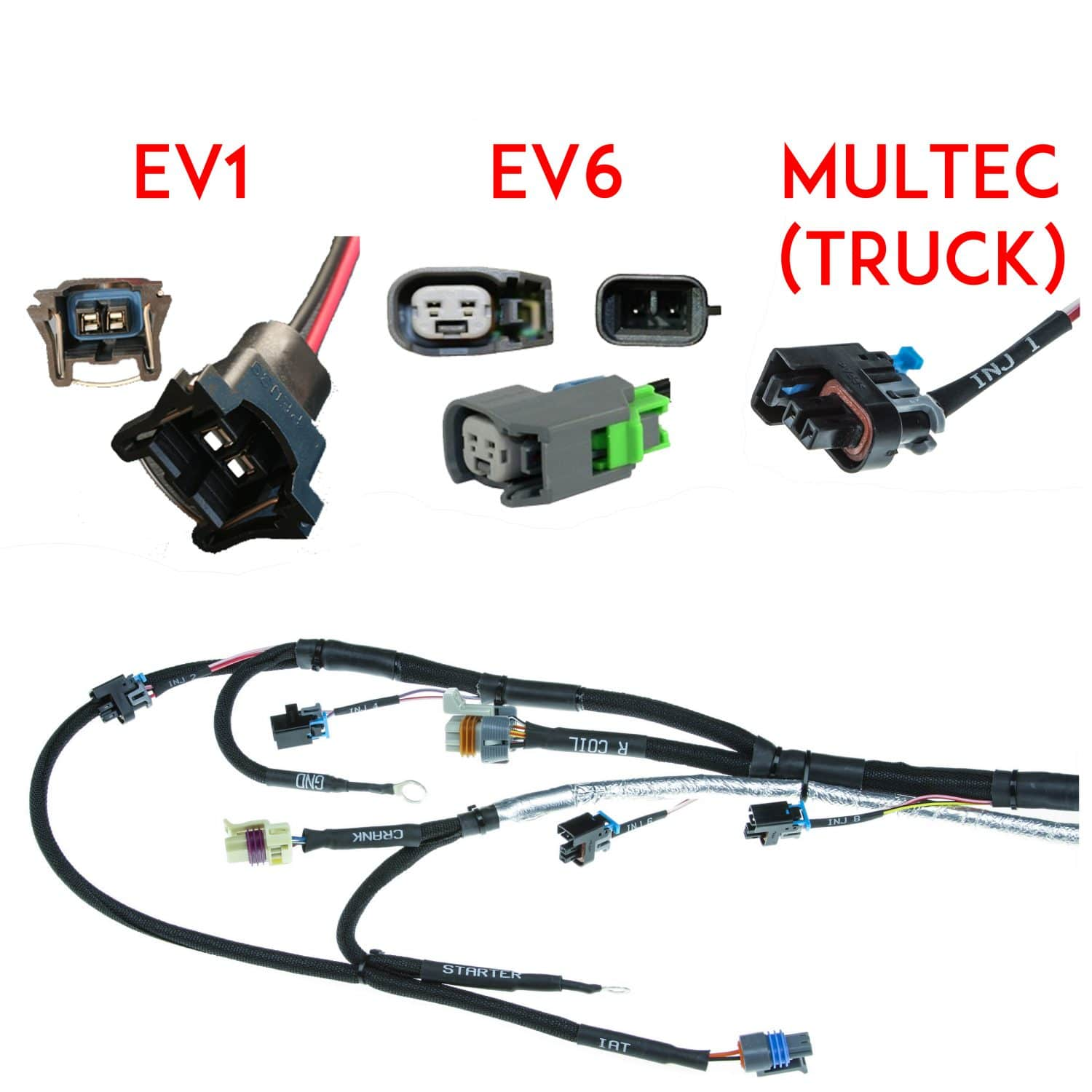 Gm Ls 24x Plug And Play Engine Harness Ultimate Evo Wiring Terminals Injector Style
