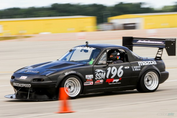 Eric Anderson's Supercharged Mazda Miata autocross national champion car - MS3Pro ECU Engine Management System