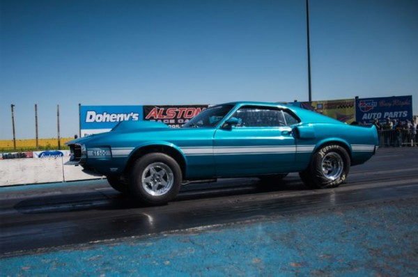 "Jay Brown's 1969 Mustang ""Shelby Clone"" at the 2015 Hot Rod Drag Week"