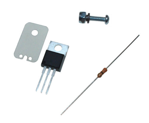 DIYAutoTune High Current Coil Driver with Hardware and Mica Insulator