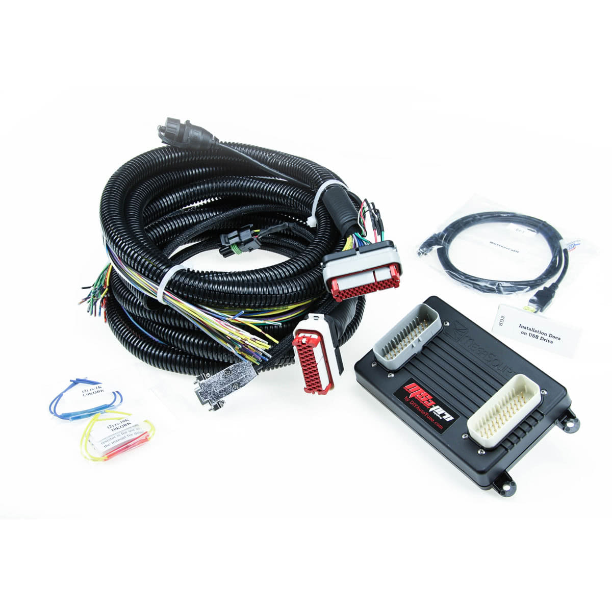 Ms3pro Gen 1 Standalone Ecu With 8 Wiring Harness Wire Flying