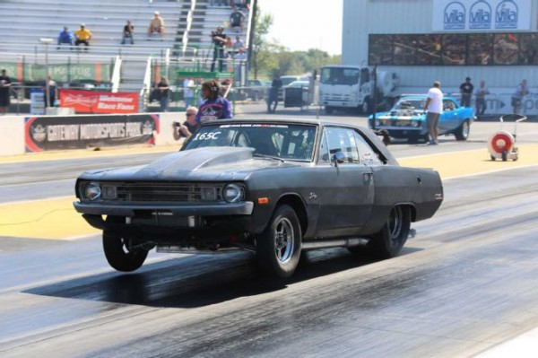 Matt Blasco's 1972 Dodge Dart at 2015 Hot Rod Drag Week