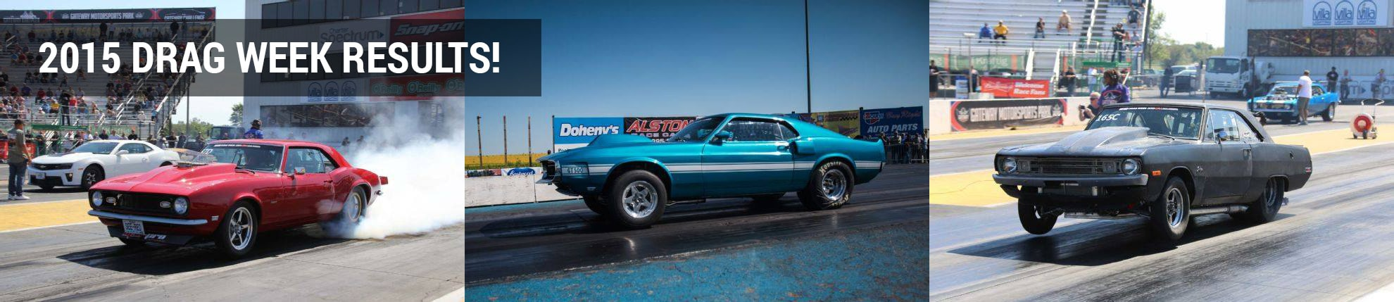 2015 Drag Week Results for MegaSquirt'd Cars & Drivers