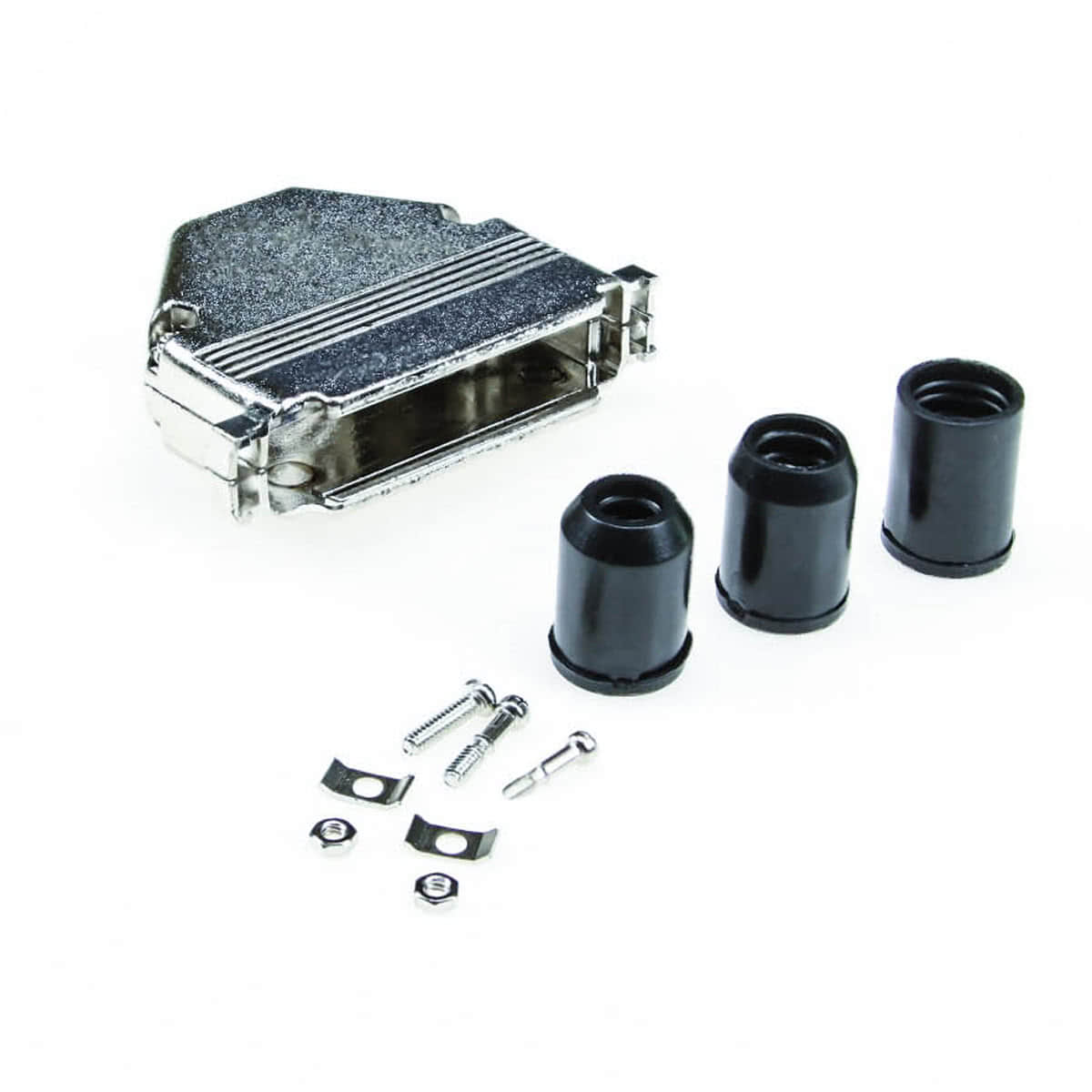 Metal DB37 Cover with Hardware and Gaskets
