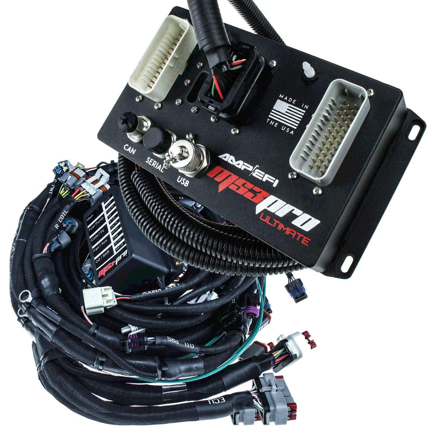 Ms3pro Ultimate Gm Ls 58x Plug And Play Package 1 Wire Alternator Wiring In Addition Megasquirt Diagram