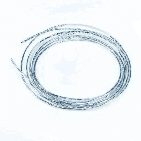 Wire - 2 Core Shielded 20 Gauge - 10\'