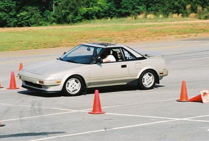 Jerry Hoffmann Autocross MR2 with MegaSquirt EMS