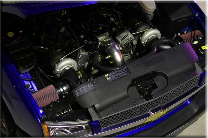 Parish's Awesome Twin Turbo LS1 Powered Silverado ...