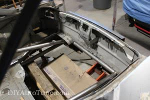 Fuel Cell mounting area 240sx