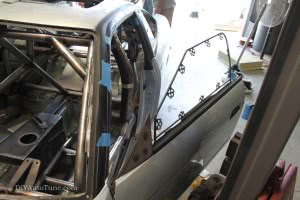 Side Window Frames and side-mirror plugs