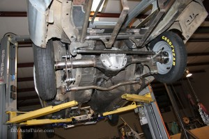 Rear 4-link Suspension, with shoes!