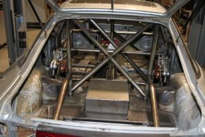 Rear Suspension installed
