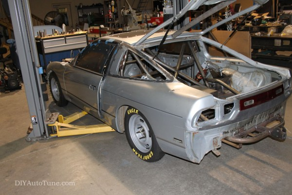 Our LandSpeed 240sx in process...