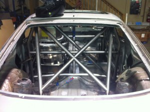 DIYAutoTune's 240sx Land Speed Car - Cage-Seat-Pedals