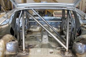 DIYAutoTune 240sx Land Speed Car - Cage update