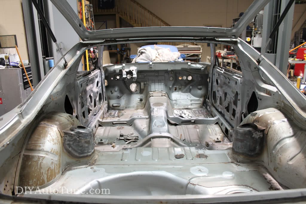 DIYAutoTune Land Speed 240sx - Cage Prep