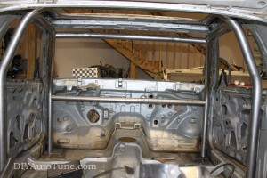 DIYAutoTune Land Speed 240sx - Cage Progress