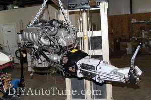 DIYAutoTune.com 240sx Land Speed Car - Engine and Trans
