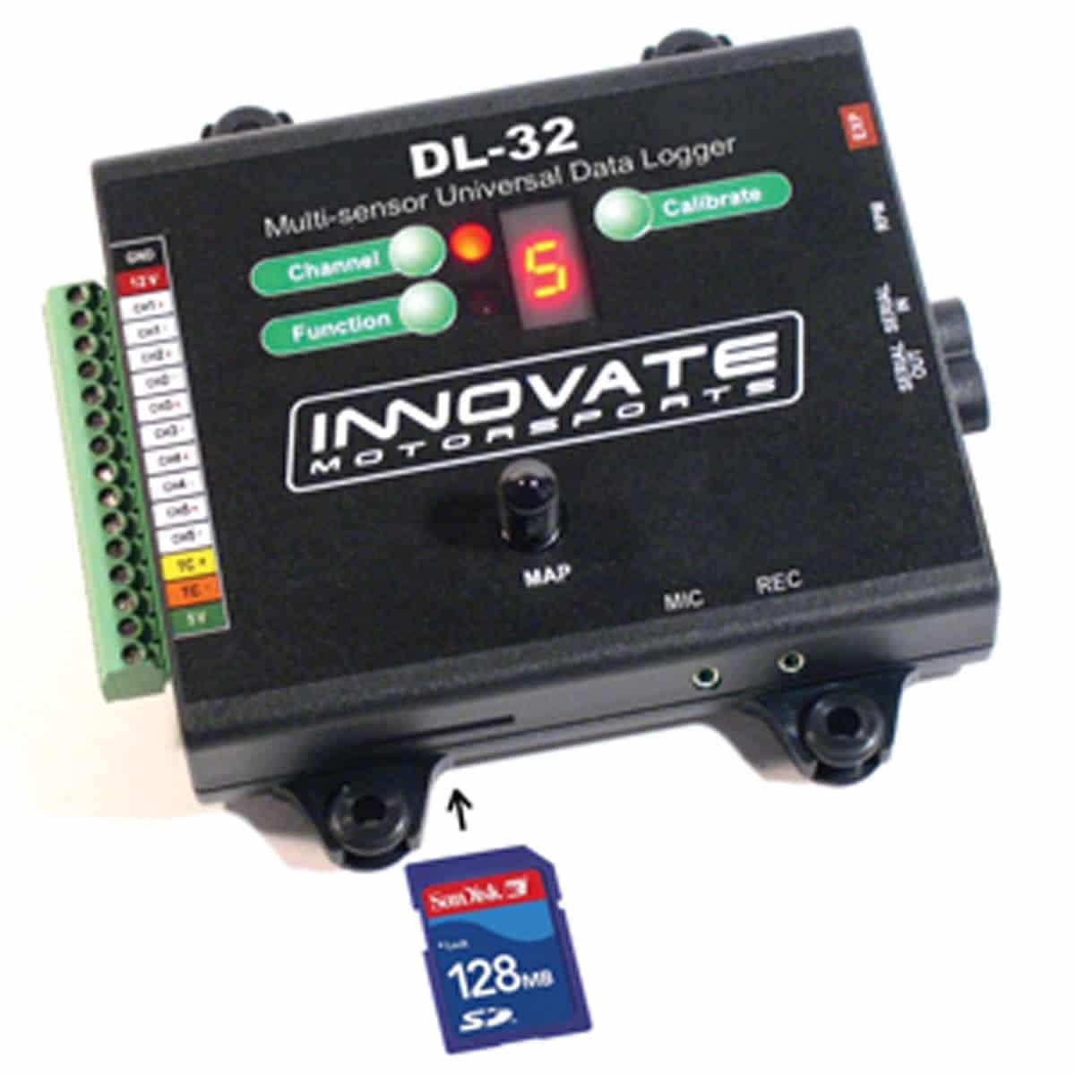 Auto Data Logger : Innovate motorsports dl datalogger and sensor controller