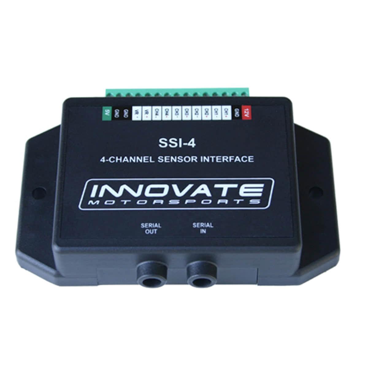 Innovate Motorsports Oil Pressure Gauge Wiring Diagram Electrical Ssi 4 Simple Sensor Interface System 3783 Sunpro Installation