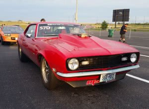 James McEntire 1968 Big Block Camaro at 2015 Hot Rod Drag Week