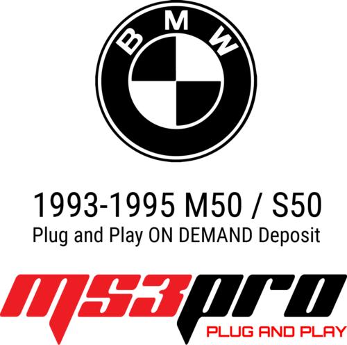 e36 plug and play deposit