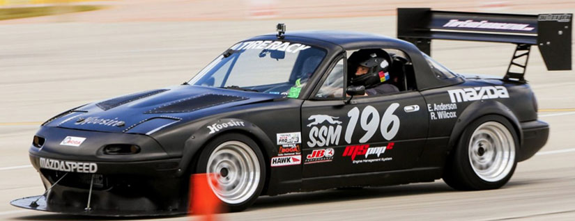 Miata Tuning Solutions - Eric Anderson's National Champion Supercharged Miata