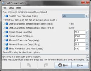 Fuel pressure failsafes - DIYAutoTune com