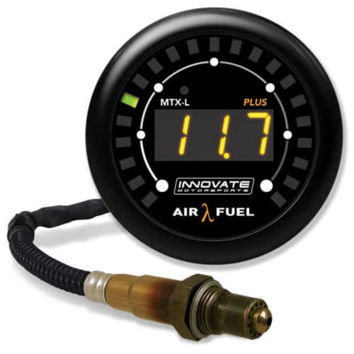 Innovate Motorsports' MTX-L PLUS wideband gauge
