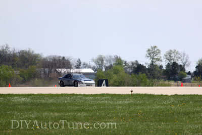 #787 Land Speed 240sx on Track
