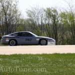 Land Speed 240sx on track full speed!