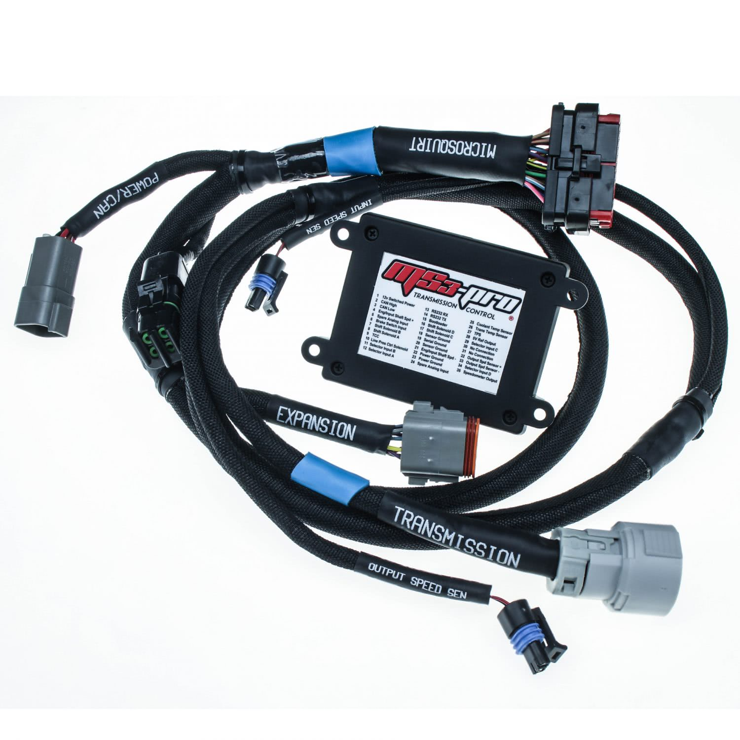 ms3ph trans_4l80 pkg2 e1470846797914 ms3pro 'drop on' 58x ls plug and play harness with ecu ecu wiring harness for 1999 mazda 626 at eliteediting.co