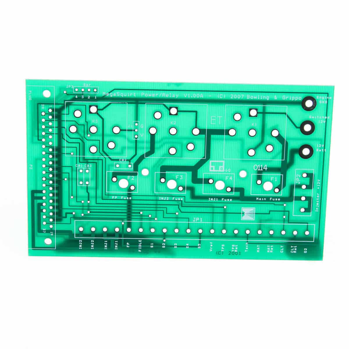 PCB MegaSquirt Relay Board PCB Only