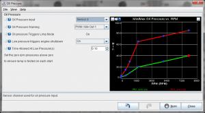 MS3Pro oil pressure settings