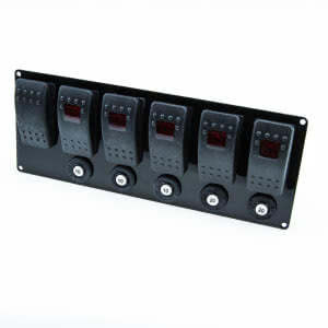 6 Circuit Switch Panel