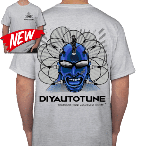 DIYAutoTune MegaSquirt Your Mind Crew Shirt