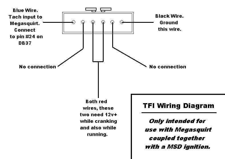 tfi_diagram how to megasquirt your ford mustang 5 0 diyautotune com 95 mustang radio wiring diagram at couponss.co