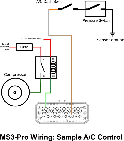 ms3pro a  c control wiring
