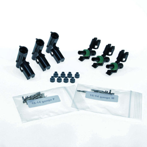 Weather Pack 1 Position, 16-14 Gauge (3) Pack